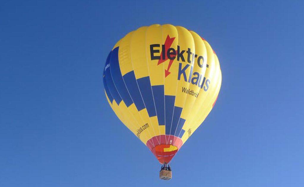Elektro Klaus Heissluftballon